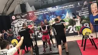 Вечный олтаймер Алексей Никулин и присед 345 кг в весовой до 82,5 кг