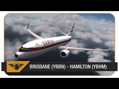 [P3D] QFA2824 | Brisbane (YBBN) - Hamilton Island (YBHM) | PMDG NGX | Qantas Retro | VATSIM FULL ATC