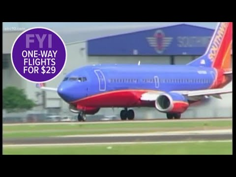 Deanna King - Southwest Sale Offers $29 One-Way Tickets