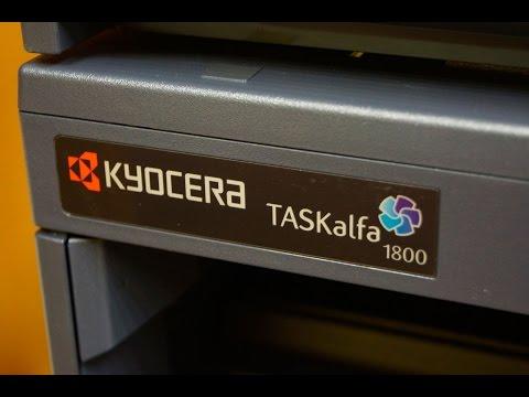 Kyocera taskalfa 1800.ОБЗОР МФУ. Первое вскрытие!