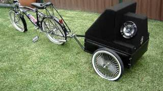 lowrider bike sound system