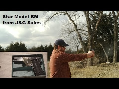 Star Model BM from J&G Sales.   History, Unboxing, and First Shots.