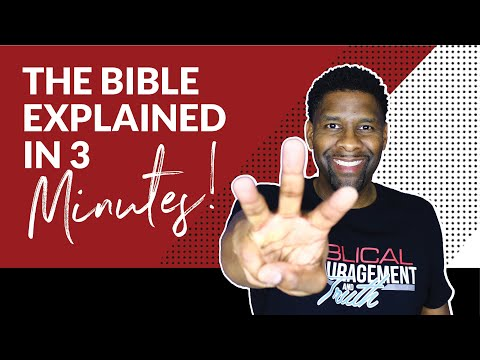 The ENTIRE Bible Explained in Three Minutes!