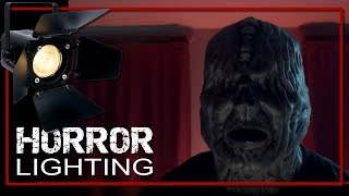 How To: Simple Horror Movie Lighting!  Make your scene look great on a budget!