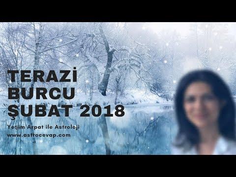 TERAZİ Burcu Şubat 2018 Astroloji