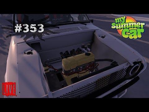 🔴 My Summer Car - Reparam motorul la masina! [ LIVE #353 ]