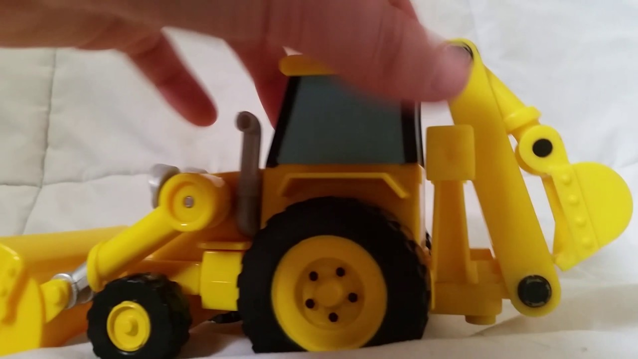 Bob the Builder Talking Scoop Review Disney Toy ...