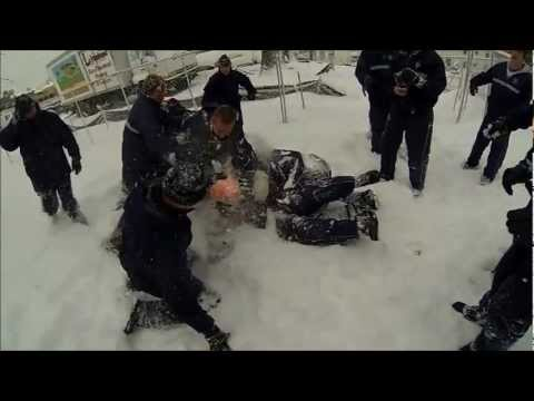 GoPro:USMMA Regimental Snowball Fight turns into a BRAWL 2013