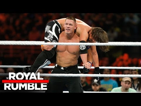 John Cena vs. AJ Styles - WWE Title Match: Royal Rumble 2017 thumbnail