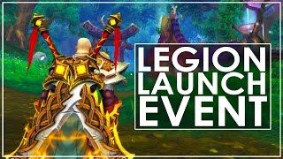 WoW Legion: The Invasion of Azeroth Pre Expansion Event