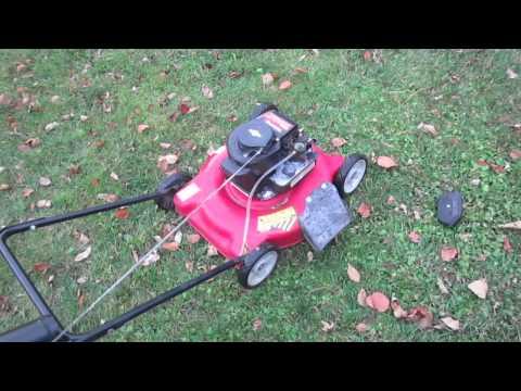 Propane Lawn Mower Conversion