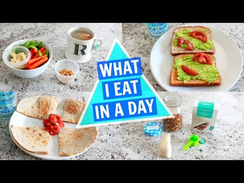 Download Youtube: What I Eat In A Day (EASY VEGETARIAN MEALS)