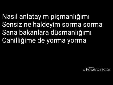 Bilal sonses - sevme Lyrics (sarki sözleri)