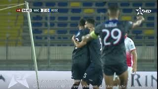 الوداد الرياضي 2-1 سريع وادي زم هدف إبراهيم البحراوي في الدقيقة 90+6