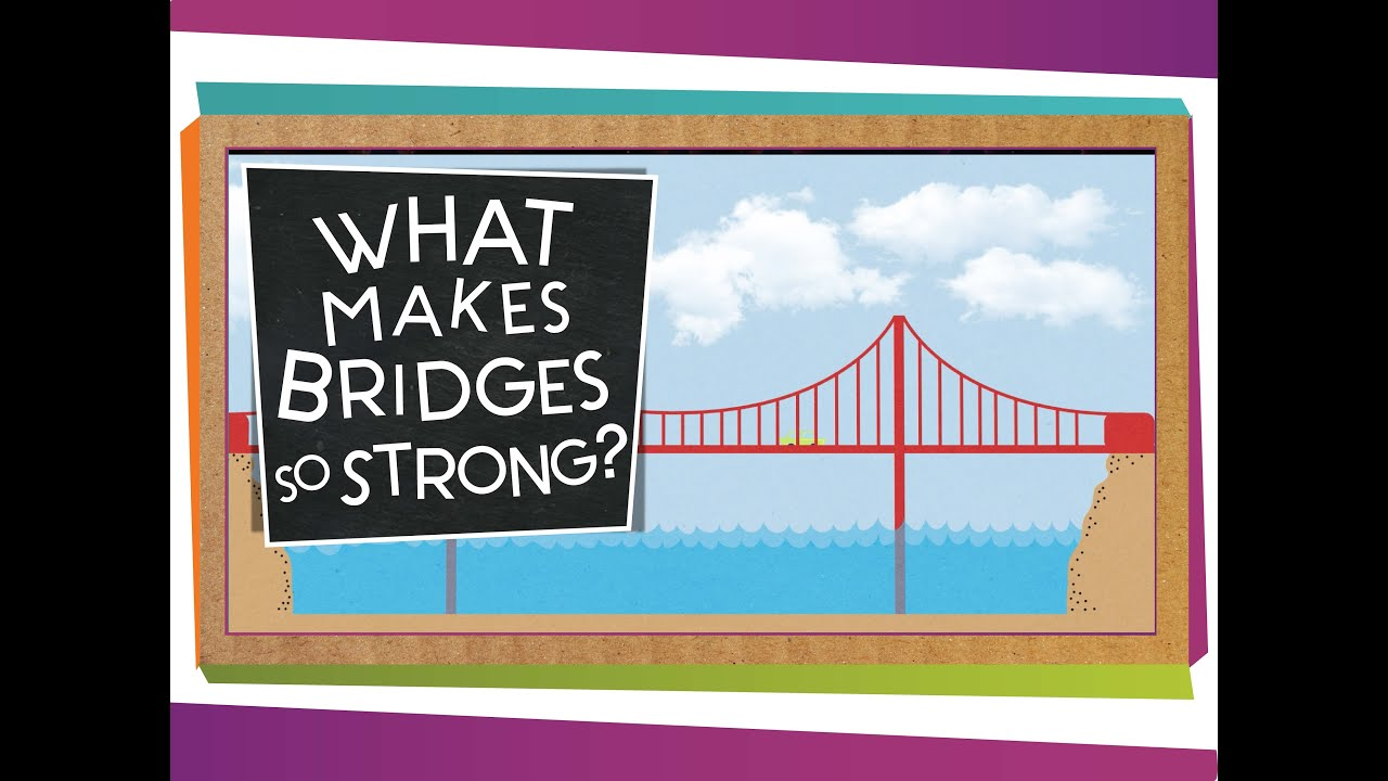 medium resolution of What Makes Bridges So Strong? - YouTube