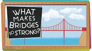 A SciShow Kids viewer wrote us to ask how bridges are strong enough to carry cars and trucks! Jessi and Squeaks can explain --