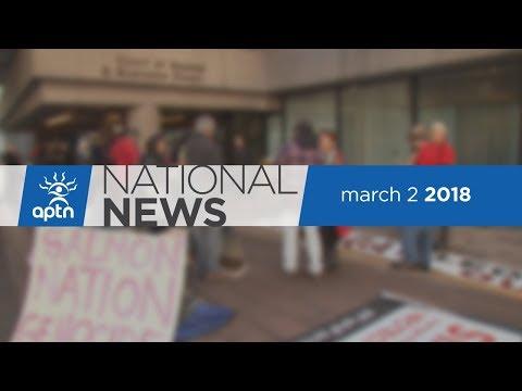APTN National News March 2, 2018