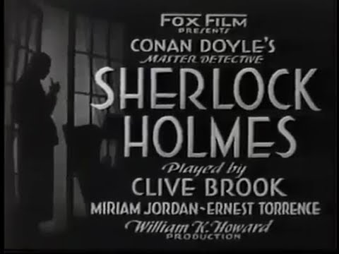 Sherlock Holmes (1932) with Clive Brook