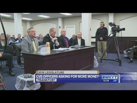 Hearing over Kentucky vehicle enforcement officer salaries