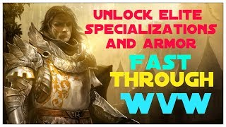 Guild Wars 2 - Unlocking Elite Specializations and Gearing Up Fast!!!