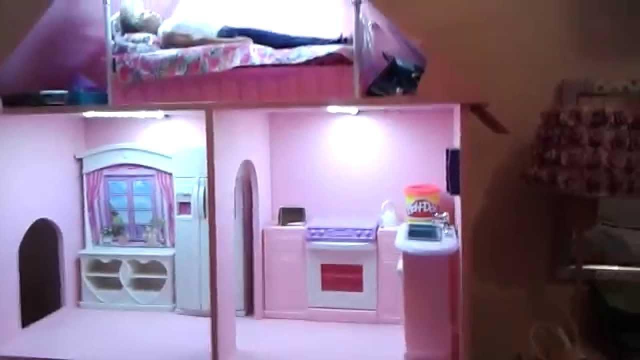 2013 casa de mu ecas de naomi led youtube - Luz led casa ...