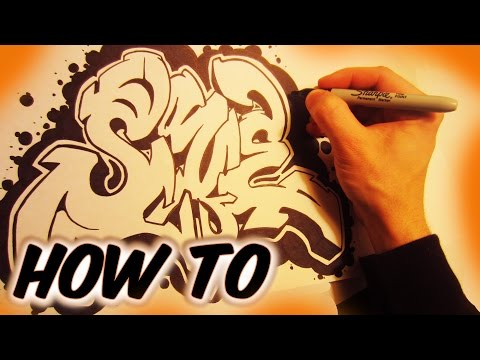 How To Turn A Tag Into A Graffiti Piece