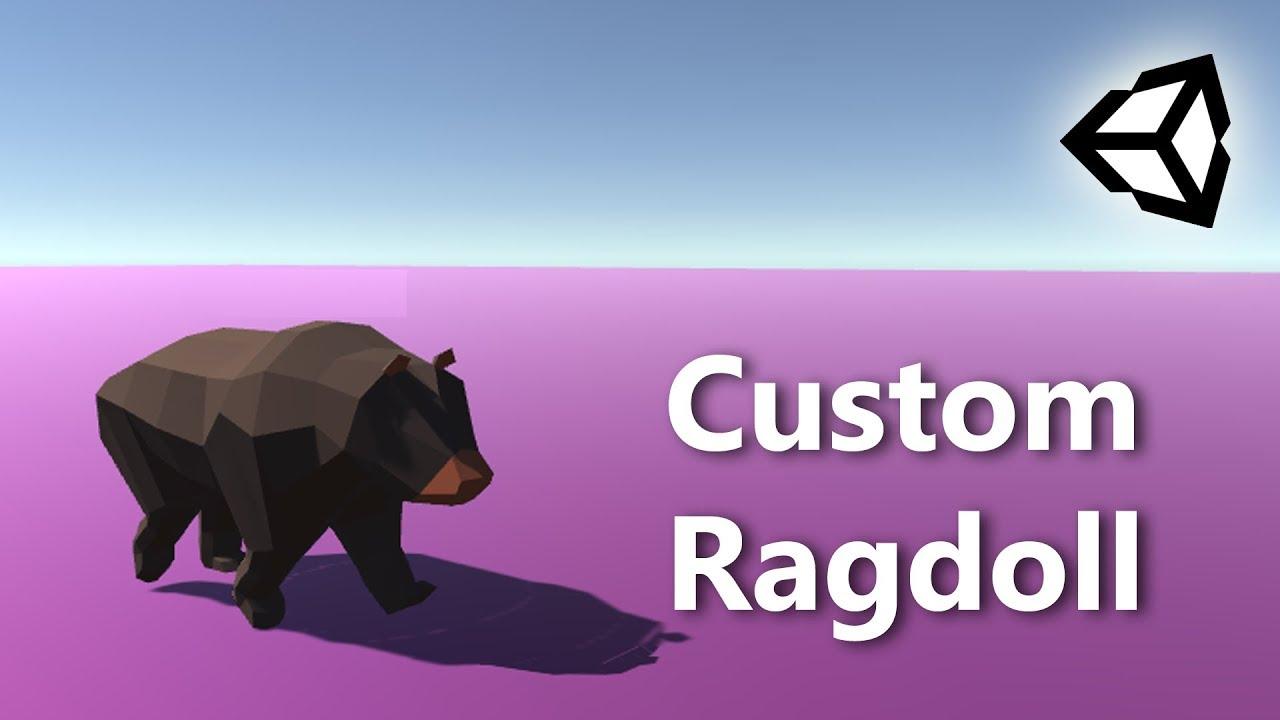 Create an Animal Ragdoll in Unity