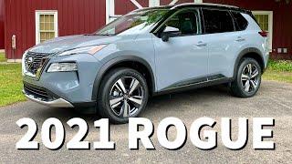 2021 Nissan Rogue Hands On Walkaround