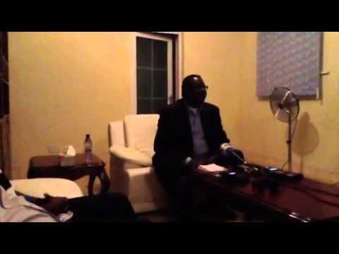 Peter Mutharika Press Briefing