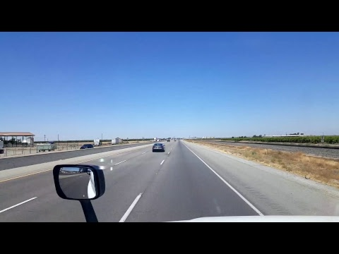 BigRigTravels Live! Wheeler Ridge to Delano, California Interstate 5 and CA Highway 99