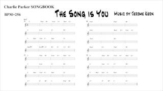 【The Song is You / Jerome Kern】Backing Track (BPM 256)
