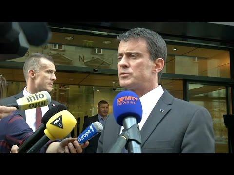 """SNCF: Valls appelle à signer """"un bon accord"""" et à cesser une grève """"incompréhensible"""""""
