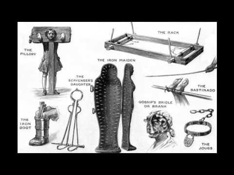 Пытки в истории человечества