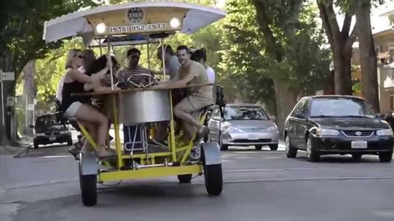 Sac Brew Bike Tours Sacramento Pubs Youtube