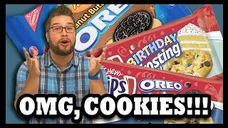 Where The Reese's Peanut Butter Cup Oreos Cookies At?!? - Food Feeder
