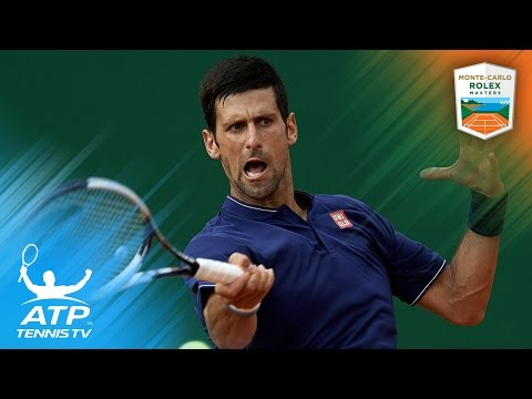 Djokovic survives Simon, Tsonga out | Monte-Carlo Rolex Masters 2017 Day 3 Highlights