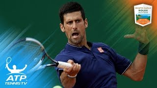 Djokovic survives Simon, Tsonga out | Monte-Carlo Rolex Masters 2017 Day 3 Highlights thumbnail
