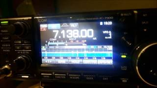 icom ic 7300 vs yaesu ft 991