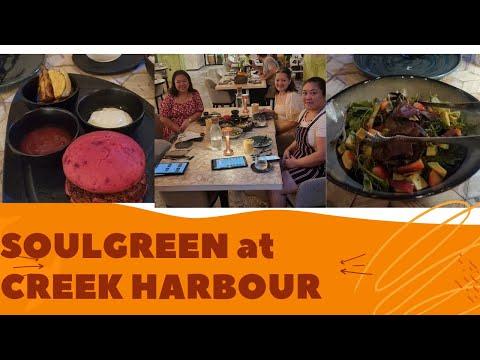Dinner at Soulgreen at Dubai Creek Harbour Dubai #VEGAN #CREEKHARBOUR #INSTRAGRAMMABLE #WHENINDUBAI