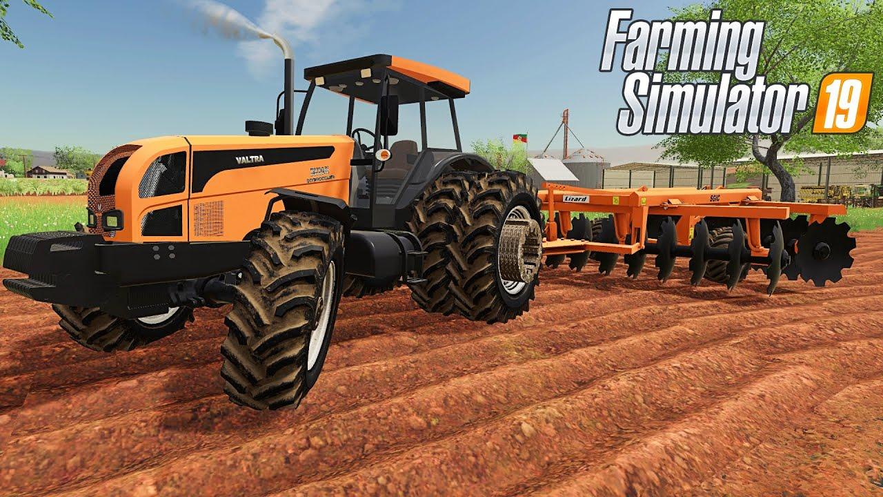 NOVO BH 205I NA GRADE ARADORA   Farming Simulator 2019