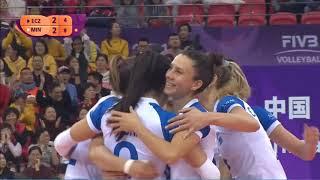 Minas x Eczacibaşi VitrA | 2018 Women's Club World Championship  | Semifinal 5set