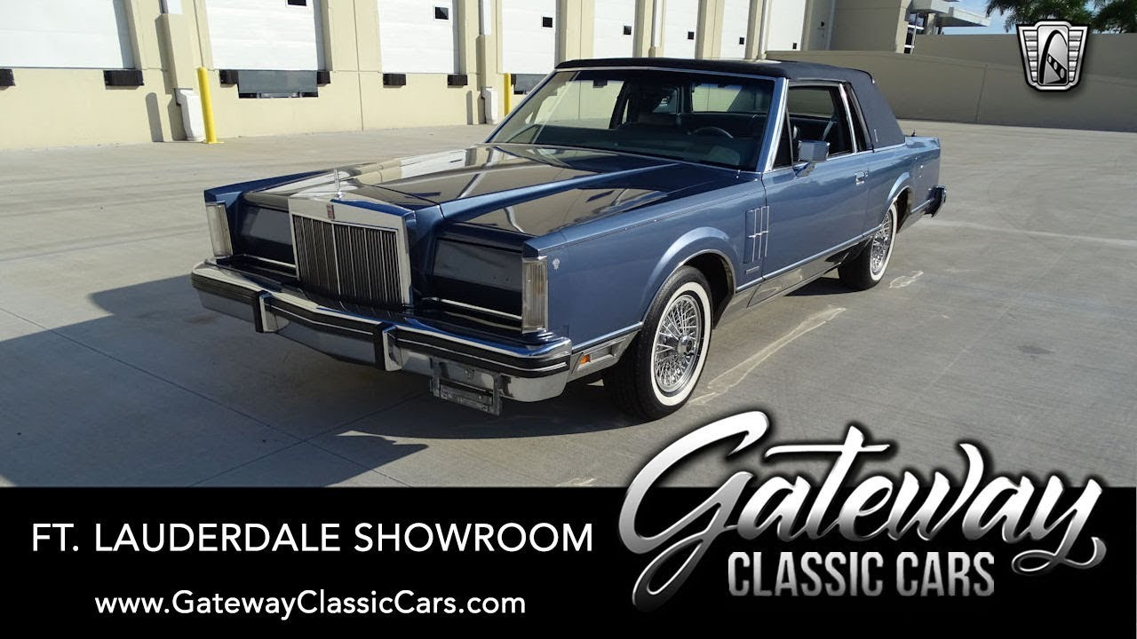 1983 lincoln continental mark vi gateway classic cars of ft lauderdale 1080 youtube 1983 lincoln continental mark vi gateway classic cars of ft lauderdale 1080