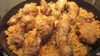 Быстрый обед или ужин Курица с рисом