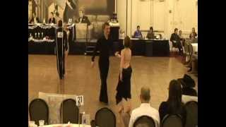 Ballroom dance competition Mystic CT Nov. 2012