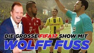 Die große FIFA17-Show bei BILD | Re-Live aus Berlin mit Kult-Kommentator Wolff Fuss