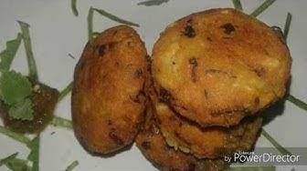 • Poha Chana daal Cutlets • पोहा और चना कि दाल से कटलेट बनाने कि विधी • Kitchen Casino •