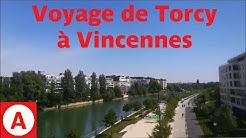 RER A: Voyage de Torcy à Vincennes