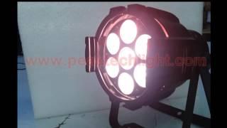 7x10w led par rgbwa 5in1 indoor par can