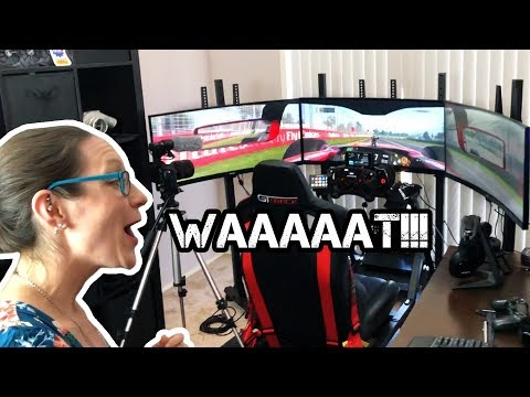 Wife's Reaction To My $20,000 Sim Racing Rig
