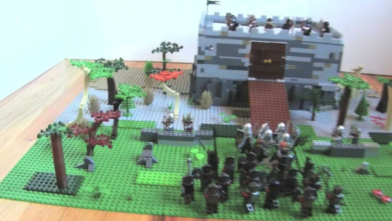 Lego Lord Of The Rings Battle Of Gondor